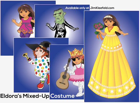 Eldora's Mixed-Up Costume