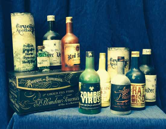 The Haunted Bottles